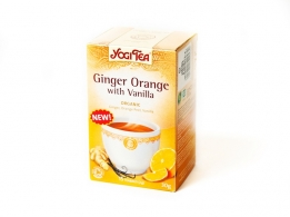 Yogitea Ginger Orange Vanilla