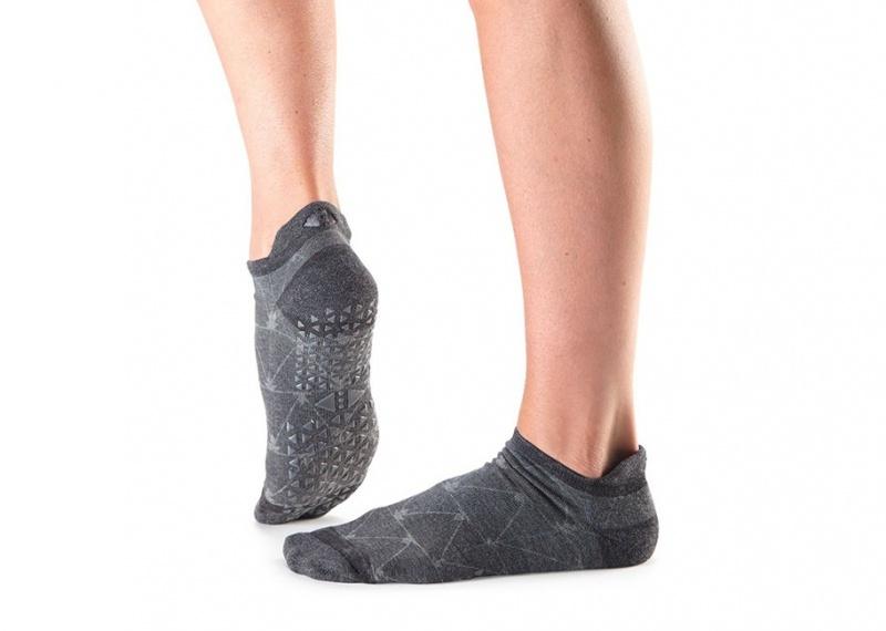 Ponožky na jógu Tavi Noir Savvy Broken Arrow Coal 3293c678c7