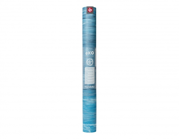 Manduka eKO SuperLite Travel Dresden Blue Marbled